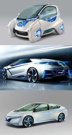 Honda Honda EV / Hybrid Concept Cars (Tokyo Motor Show Neo Futuristic Cars My Dream Car, Dream Cars, Design Transport, Future Concept Cars, Honda, Automobile, E Mobility, Tokyo Motor Show, Futuristic Cars