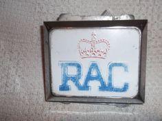 RAC ROYAL AUTOMOBILE CLUB VINTAGE CLASSIC CAR GRILLE BAR BADGE