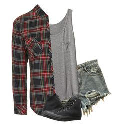 """Untitled #410"" by zayumn1magcon ❤ liked on Polyvore featuring Topshop and Converse"
