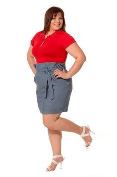 Tendência - Assessoria de Moda e Comunicação: Moda Plus Size. Modelo Pluz Size Andrea Boschim (créditos de Hilton Costa)