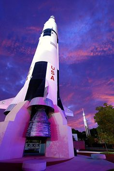Space & Rocket Center Huntsville  Alabama    - I went there and did the Aviation Challenge part of the space camp there. It was the best week of the holiday. Beaten only by the half day we spent on Alcatraz.