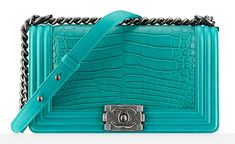 The BEST Boy Bag I've seen yet, but if I have to ask the price, I can't afford it haha | Chanel Alligator Boy Bag | Price Upon Request