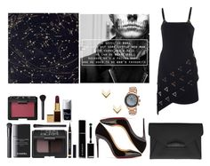 """Man Or A Monster"" by angie-5soslm ❤ liked on Polyvore featuring David Koma, Christian Louboutin, Givenchy, NARS Cosmetics, Yves Saint Laurent, Chanel, Tom Ford, Christian Dior, Leslie Danzis and Swiss Legend"