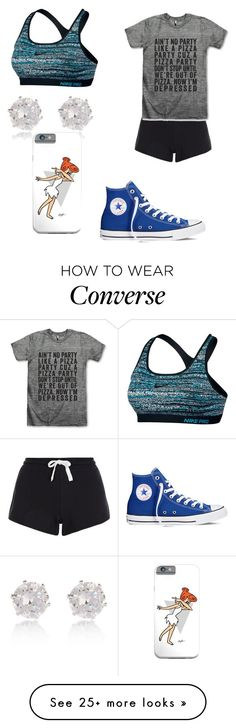 """""""do u see that phone case hehe"""" by sashten on Polyvore featuring moda, Converse, NIKE, River Island, women's clothing, women, female, woman, misses y juniors"""