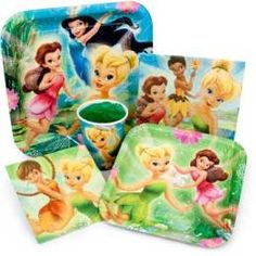 Tinkerbell Birthday Party- Ideas for games and decorations