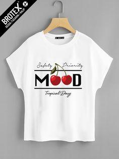 Bayan – Brotex Design Shirt Design For Girls, Free T Shirt Design, Shirt Designs, Vinyl Shirts, Cool Shirts, Girls Fashion Clothes, Kids Fashion, Kids Wear, Children Wear