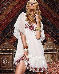 Summer dress with Ukrainian embroidery. http://tri-skelos.blogspot.com/2011/01/monday-fashion-inspirations-vyshyvanka.html