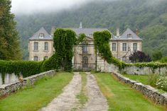 Two ambitious Aussie expats are restoring an abandoned French chateau and took over Lonny's Instagram for a day to document the process. Click through to see all the photos they shared with us and follow @chateaugudanes to keep up with the home's dramatic transformation and its many four-legged residents.
