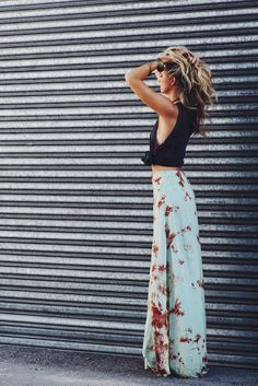 Save Me Maxi Skirt | 12th Tribe