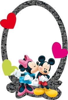 Mickey Mouse Frame, Mickey Mouse Cartoon, Mickey Mouse And Friends, Mickey Minnie Mouse, Cartoon Kids, Mickey Mouse Wallpaper, Disney Wallpaper, Photo Frames For Kids, Happy Birthday Greetings Friends
