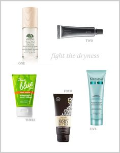 Dryness Fighters, for hair, skin and body | The Small Things Blog | Bloglovin'