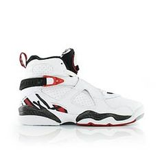 timeless design 486ff 6edb4 jordan AIR JORDAN 8 RETRO BG WHITE GYM RED-BLACK-WOLF GREY Air