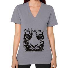 Wildsiders Signature V-Neck (on woman)