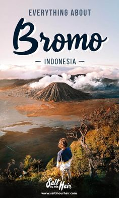 Bromo, a high volcano in Java, Indonesia. This is everything you need to know about a Bromo tour at sunrise. Yogyakarta, Lombok, Hanoi, Beautiful Places To Visit, Places To See, Thailand, Vietnam Voyage, Borobudur, Bali Travel