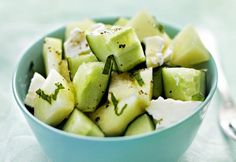 Hunajamelonifetasalaatti | Koti ja keittiö