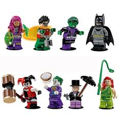LEGO 8 Minifigures from Jokerland 76035 @ niftywarehouse.com
