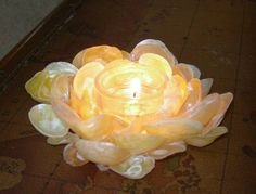 jingle shell candle holder...I have so many of these from my beach walks :-)