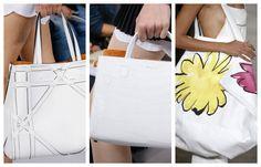 Модные белые сумки осень – зима 2016 – 2017, фото. Белые.