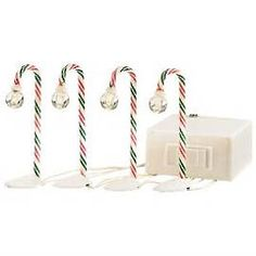 """Department 56: Products - """"North Pole Candy Cane Lampposts"""" - View Products"""