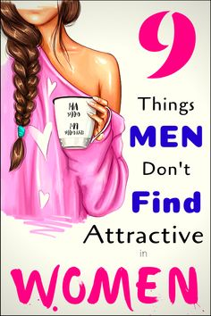 Many people were asked and many answers were given. Based on that here is a list of top 9 things that men don't consider attractive in women: Health And Fitness Articles, Fitness Tips, Health Fitness, Fitness Workouts, Beauty Care, Beauty Hacks, Beauty News, Beauty Skin, Too Much Makeup