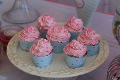 cupcake de frutillita