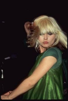 Debbie Harry in vintage.