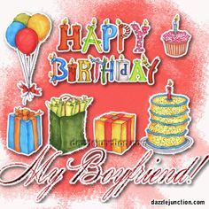 Happy Birthday Images for Your Boyfriend http://www.happybirthdaywishesonline.com/