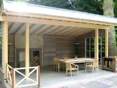 Afbeeldingsresultaat voor open tuinhuis