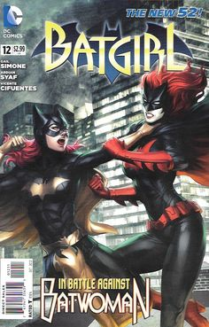 Knightfall Part 3 : Every Time I Fall __ Written By Gail Simone , Art by Ardian Syaf ,Ulises Arreola and Vicente Cifuentes ,And Cover by Stanley Lau The Story __Batgirl battles Batwoman! Knightfall st