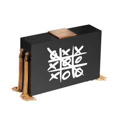 ESHVI Xoxo Tassel Clutch Bag