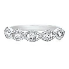 1/2 ct. tw. Diamond Anniversary Band in Platinum