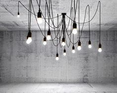 Leuchte Maman von Seletti mit 14 LED-Leuchten