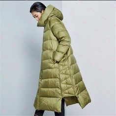 Cheap female female, Buy Quality female jacket directly from China female long coat Suppliers: New Arrival 2016 Casual Classic Loose hooded thick winter coat women zipper X Long white duck down jacket female Winter Coats Women, Coats For Women, Jackets For Women, Long Down Coat, Gilet Long, Duck Down Jacket, Moda Boho, White Ducks, Moda Vintage