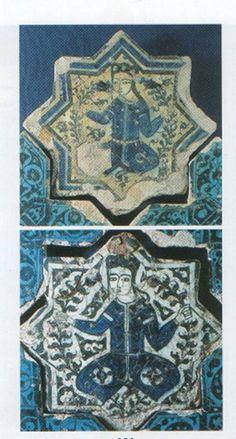 Ayça Eren'in Sanat Atölyesi Kubad Abad Sarayı Çini Figürleri