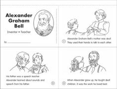 WK 21 Biography of Alexander Graham Bell for Children
