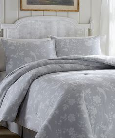 Another great find on #zulily! Garden Paradise Comforter Set by Laura Ashley Home #zulilyfinds