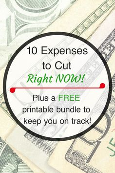 10 Expenses to Cut R