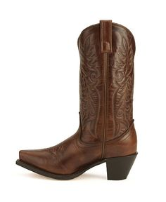 Laredo high heel cowgirl boots