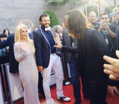 Britney Spears' reaction to seeing Harry Styles in real life on the Billboard Music Awards red carpet is us all  - Sugarscape.com