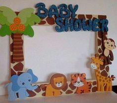 Resultado de imagen para frascos decorados bebe safari