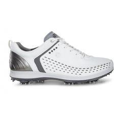 meet fc24a eea54 Ecco Biom G 2 White Shadow Men s Golf Shoe from