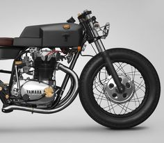 A 45-Year-Old Yamaha Motorcycle With Industiral-Inspired Design Roots That Was…