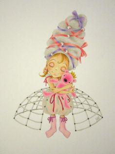 Pencil on acrylic paper by Rita Vjodorowa