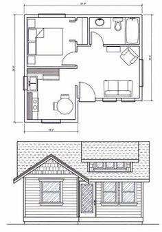 House Plans Under 400 Sq Ft Inspirational Amusing 400 Sq Ft Indian House Plans Gallery Best Idea Home - Floor and House Inspirations Ideas The Plan, How To Plan, Small House Floor Plans, Micro House Plans, Indian House Plans, Apartment Floor Plans, Bedroom House Plans, Small House Design, Cabin Plans