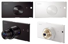 Sony launches dedicated Xperia Z Ultra cases for QX lens cameras - AIVAnet Techno Gadgets, New Gadgets, Galaxy S5 Case, Samsung Galaxy S5, Camera Case, Camera Lens, Sony Phone, Android Smartphone, Best Android
