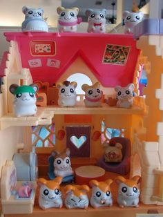 I had this when I was a kid! I loved playing with the little hamsters :)