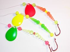 Walleye Fishing Spinners @ stevesstoreofstuff.etsy.com