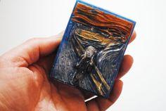 Handmade inspired 'The Scream' parody Soap  Edvard by NerdySoap