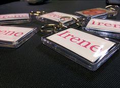 Llaveros personalizados con foto y nombre. #Llaveros