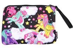 Liquorbrand Rockabilly Lolita Rainbows & Unicorns Pony Clutch Bag - Skelapparel - 1
